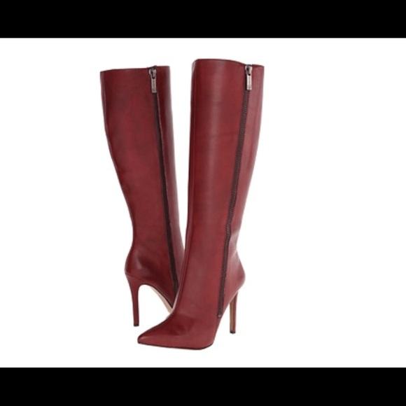 87363cb0104 Jessica Simpson Knee-High Leather Capitani Boots